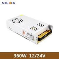 12v power supply 30a 360w input 220v ac dc 24v 15a 360w source of power