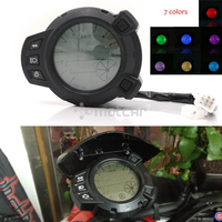 7 Colors Motorcycle Instruments 10000 RMP LCD Speedometer Tachometer for Yamaha Zuma BMK X125 YW125 Speedomerter for Yamaha BWS