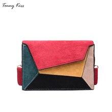Tonny Kizz необычная сумка женская через плечо,красочная маленькая сумка для девочки меховая сумка для женщин высокого качества