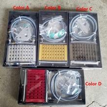 Universal Motorcycle CNC Aluminum Engine Oil Cooler Cooling Radiator Kit For 50cc 110cc 125cc 140cc 150cc ATV PIT PRO Trail Dirt