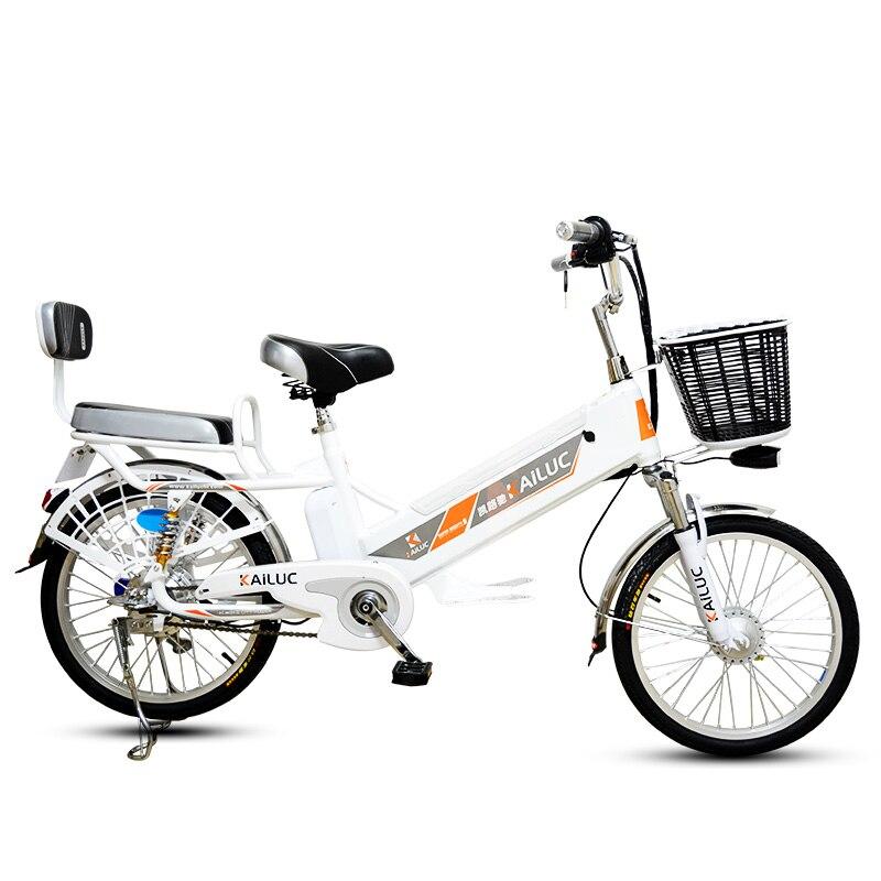 20/24 pouces vélo électrique 60 v Batterie Au Lithium Adulte 350 w roue Arrière Cyclomoteur Scooter Moto Batterie D'escalade 35 Ebike