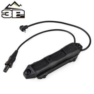 Image 4 - Pressostato remoto MLOK KEYMOD tattico per PEQ Scout arma luce doppio pulsante torcia da caccia PEQ Fit Picatinny Rail