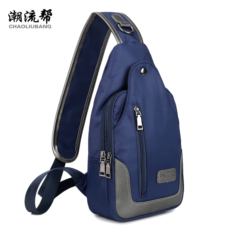 2018 New Fashion Men Messenger Bags Travel Chest Pack women Cross body Sling Shoulder Messenger bag Unisex Money Phone Belt Bag