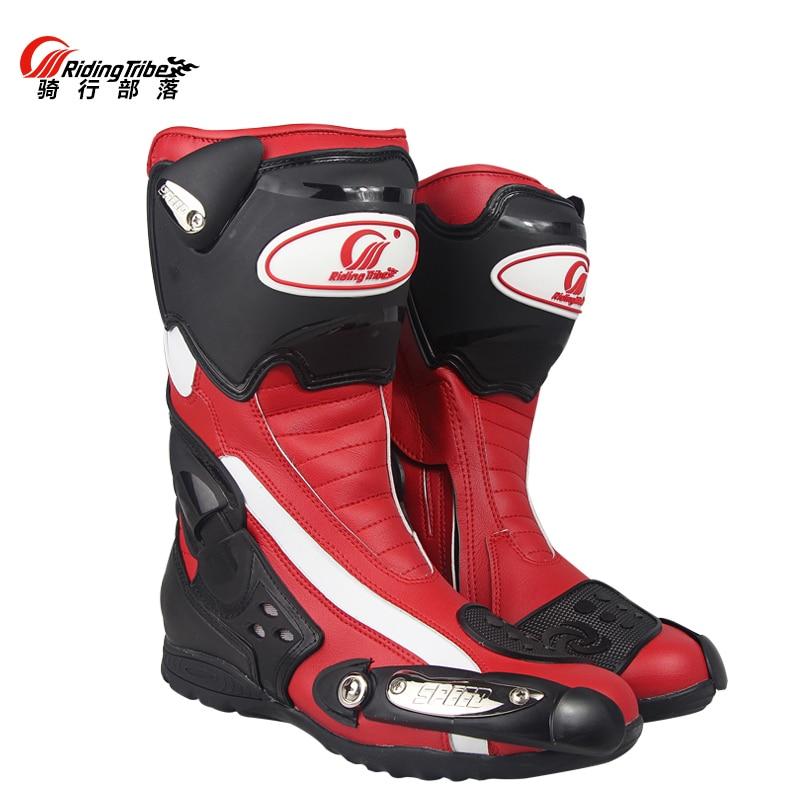PRO BIKER motorcycle cycling font b shoes b font moto racing motocross boots motorbike knight font