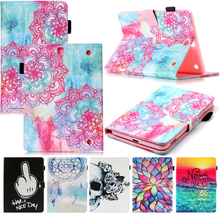 Tablet T550 T555 Funda For Samsung Galaxy Tab A 9.7 inch Fashion Mandala Leather Flip Wallet Case Cover Coque Shell Skin Stand цена 2017