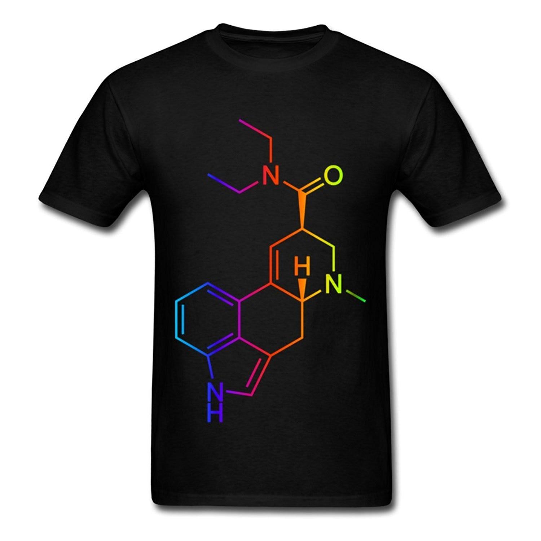 Sleeves Cotton T Shirt Fashion Acid Test Lsd Psychedelic Drogen Mens Crew Neck Short-sleeve Gift Shirts Mans Unique Cotton T-shirts