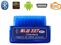 10 pc/lote mais recentes para obd2 super mini elm 327 bluetooth obdii atualização de V1.5 mini bluetooth elm327 V2.1 mini elm 327 bluetooth