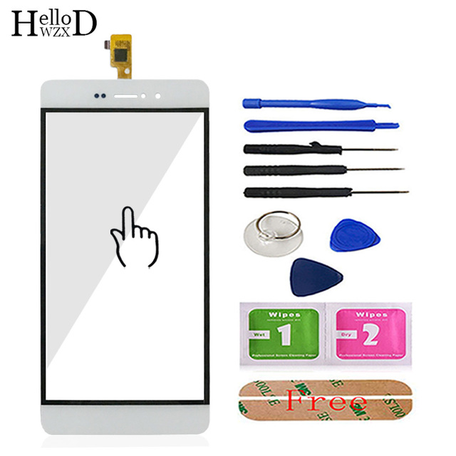 5.0' Mobile Phone Touchscreen Touch Glass For Bluboo Picasso Touch Screen Glass Digitizer Panel Front Glass Lens Sensor Adhesive