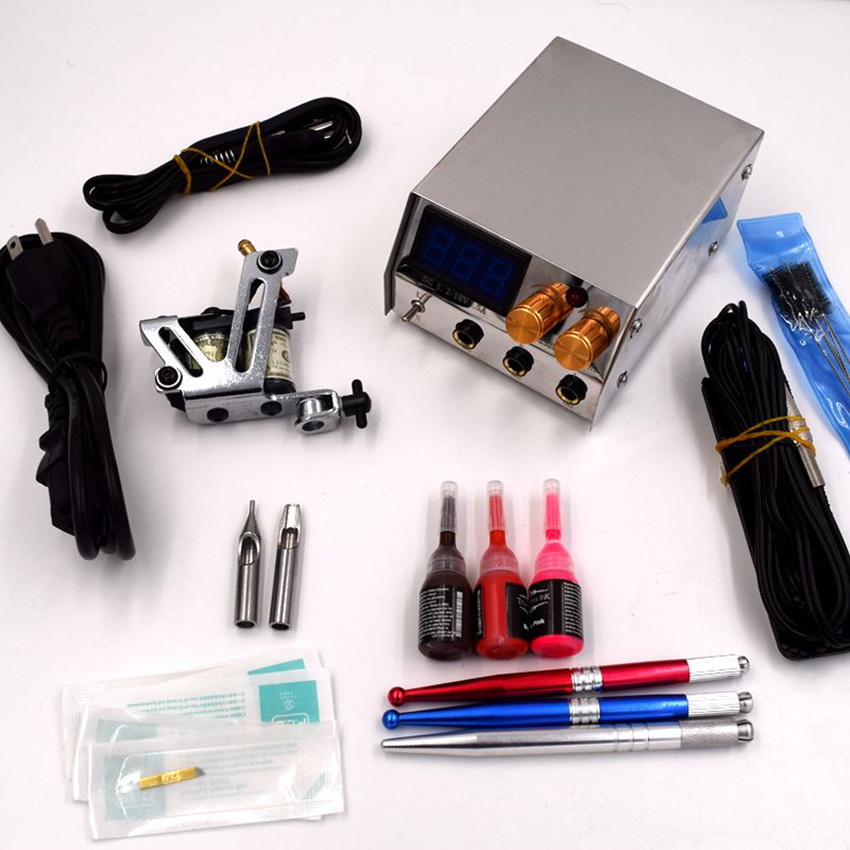Tattoo permanent makeup kits for HARBE005 good quality free shipping