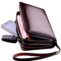2013 Male Clutch Man Bag Envelope Clutch Bag Business Casual Day Clutch Bag Leather Bag