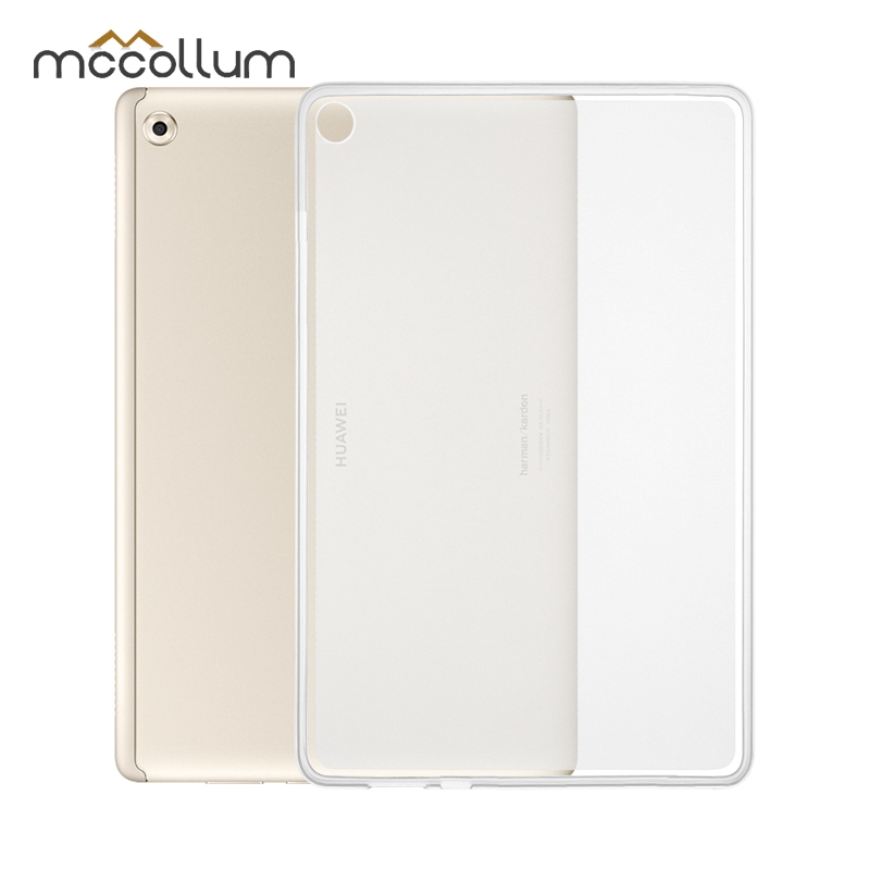Clear Soft Tpu Case For Huawei Mediapad M5 Lite 10 Case Silicon Bah2-l09 Bah2-w19 Bah2-al09 Tablet Bags 10.1 Inch Back Cover High Quality Materials Tablet Accessories