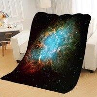 Cobertores personalizados galaxy céu estrelado cobertores para camas diy macio sua imagem decoração quarto lance cobertor de viagem