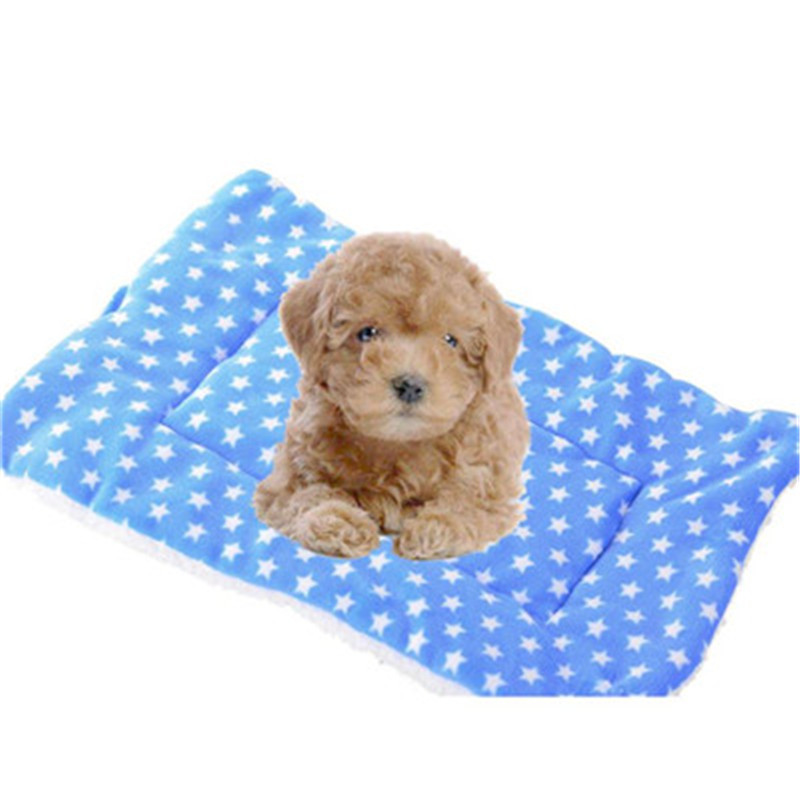 Large dog bed blanket mat Small Pet Dog Cat Flannel Blanket House Soft Cushion winter warm Kennel Cage Pad Washable 2017