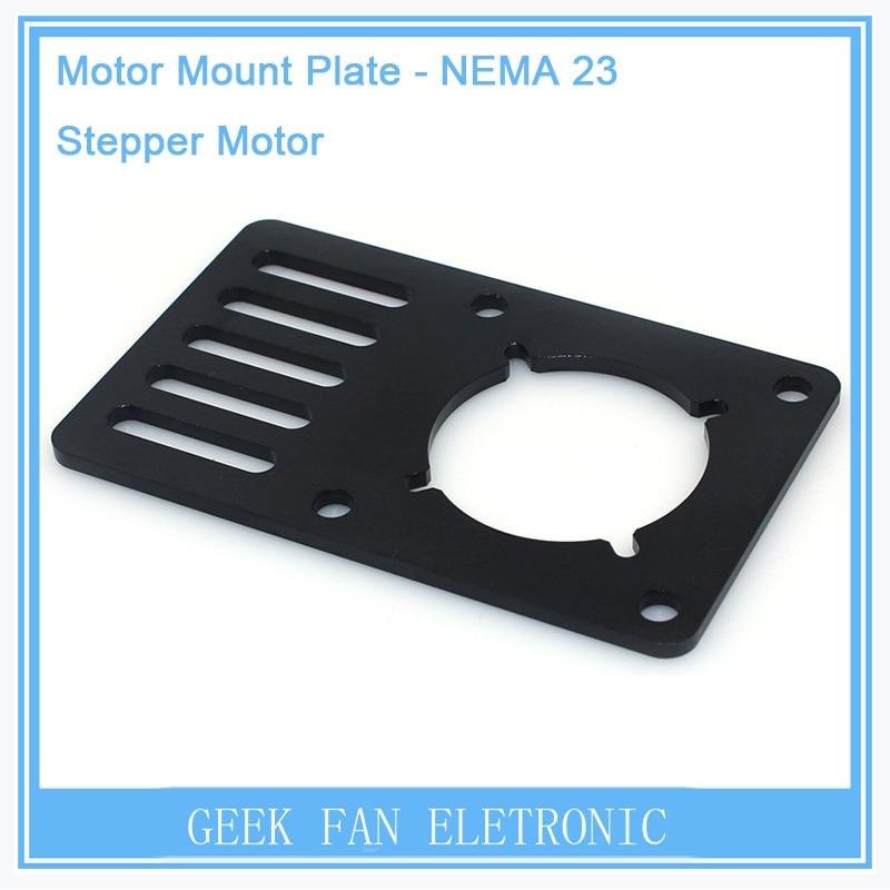 For Openbuilds V-Slot Motor Mount Plate for NEMA23 90*60*3mm Stand Holder CNC Aluminum Bracket for Kossel Printer 3D0270 1pcs openbuilds motor mount plate for nema 17 82 39 5 3mm aluminum alloy cnc special fixing plate for 3d printer