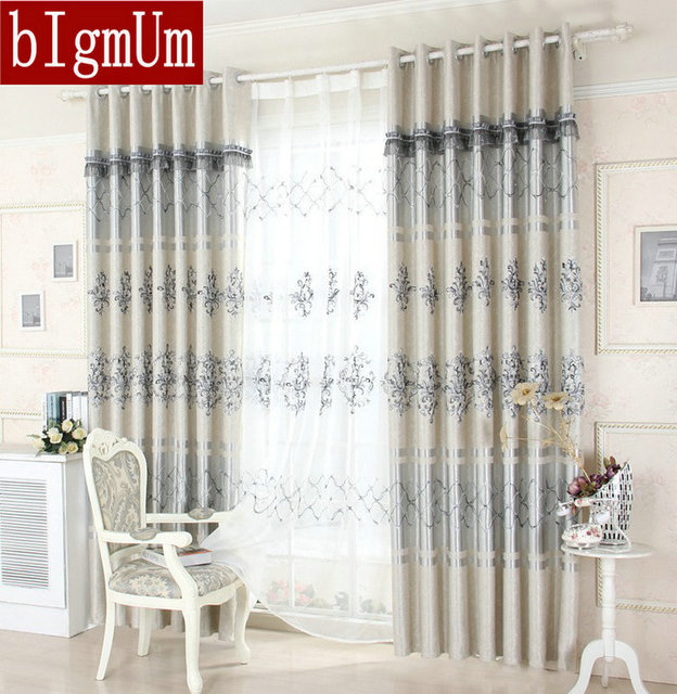 Nice Curtains this blog for today is about what type of curtains your house needs you will amaze yourself when you will see such a nice curtains design European Curtains For Living Room Nice Pattern Luxury Embroidered Window Curtains Treatment