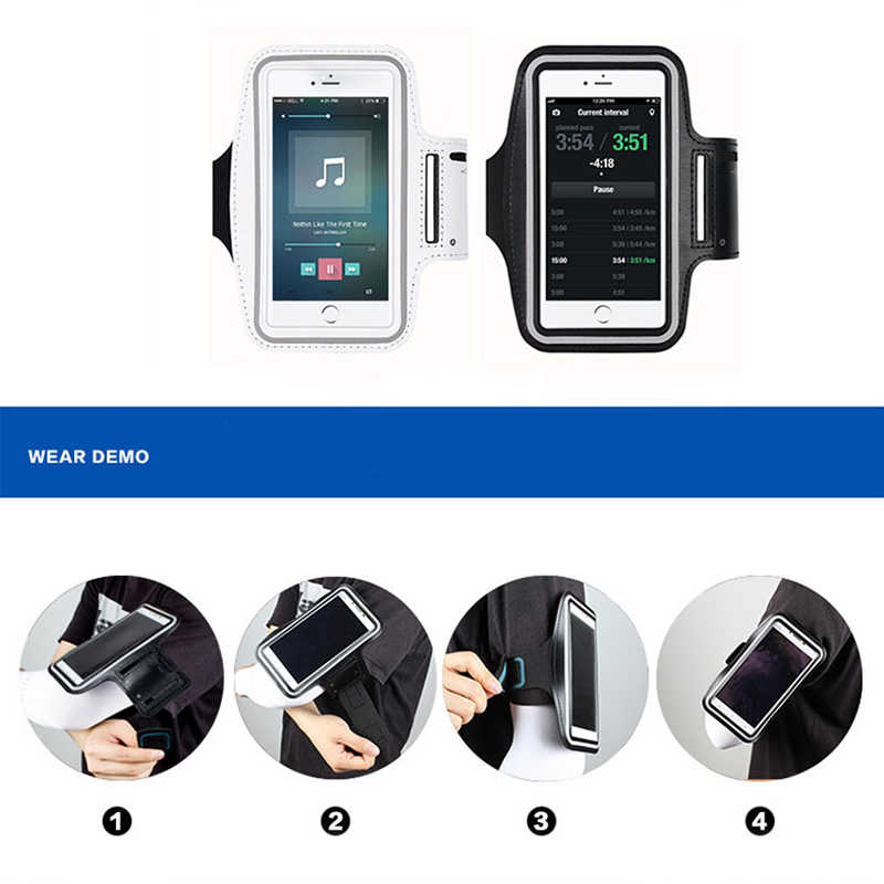 Universal Outdoor Sports Phone Holder Armband Case for Xiaomi Mi 9 Gym Running Phone Bag Arm Band Case for Huawei P20 Lite Hand