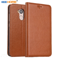 KEZiHOME For Xiaomi Redmi 4 Pro Case Flip Genuine Leather Soft Silicon Back For Xiaomi Redmi4