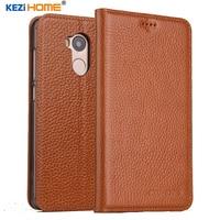KEZiHOME For Xiaomi Redmi 4 Pro Case Flip Genuine Leather Soft Silicon Back For Xiaomi Redmi4