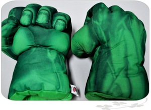 Image 4 - Childrens spiders, boxing, stuffed toys, green gloves, giant fist, childrens Day gifts