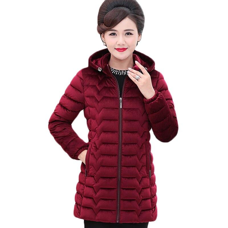 Новая осенне-зимняя Золотая Бархатная хлопковая куртка с капюшоном, женские длинные теплые пуховые хлопковые куртки в Корейском стиле, жен...