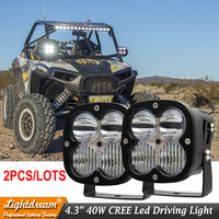 24V 12V 40W LED Offroad LIGHT 4x4 LED DRIVING BOAT LIGHTs USED FOR CAR TRUCK SUV