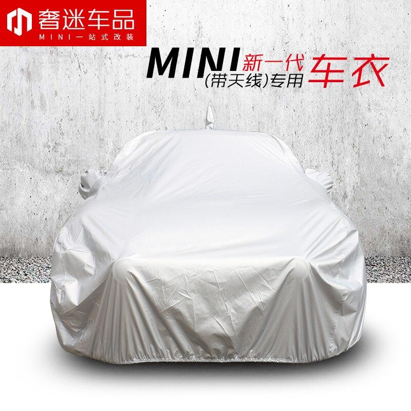 1 set taille spéciale revêtement de voiture protection solaire étanche à la poussière bâche de voiture pour BMW MINI cooper countryman clubman F54 F55 F56 F60 R60 - 2