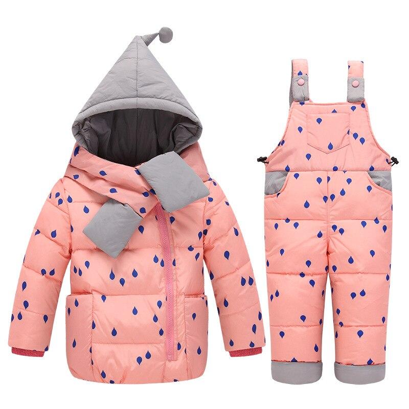069328d1aa8e Newbron Baby Boy Clothes Sets Winter Baby Snowsuit Infant Down ...