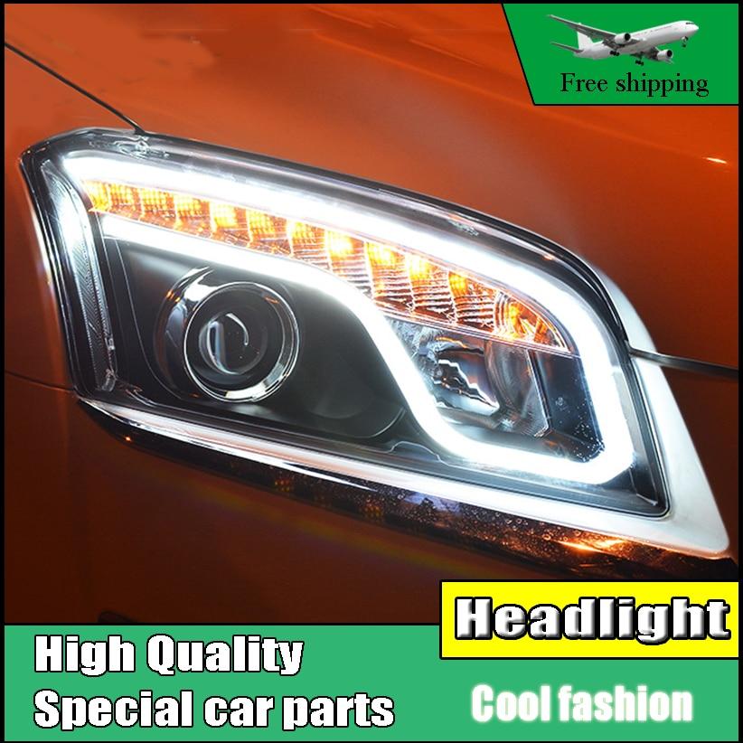Car Styling Head Lamp Case For Chevrolet Trax headlights 2013-2016 led headlight DRL H7 hid Bi-Xenon Lens low beam