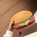 3D Милый Мультфильм Женщин Гамбургер мороженое Мини-Сумки Небольшой Цепи Сцепления Crossbody Девушка Плеча сумку Кошелек цвета смешно