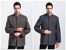 Free Shipping ! Fashion Chinese Style Men's Wool Kung-Fu Jacket Coat M L XL XXL XXXL M27