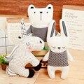 Подушка-кролик в скандинавском стиле, единорог, медведь, подушка, игрушки, хлопковые животные, плюшевые игрушки, детские игрушки, украшение ...