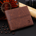 men wallets famous brand new 2016 mens wallet male money purses New classic soild pattern designer Soft ID Card Case
