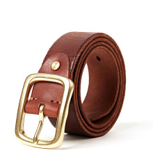 Здесь можно купить  Super quality leather belt men genuine leather belts for men golden buckle  design  cow skin  winter jean strap free shipping    Apparel Accessories