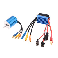 New 1/16 1/18 RC Car Truck Parts 2430 7200KV 4P Sensorless Brushless Motor with 25A Brushless ESC Speed Controller
