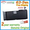 """A1331 batería original nueva batería genuina para apple macbook 13 """"17'' a1342 mc207 mc516 10.95 v 63.5wh batería con herramientas"""