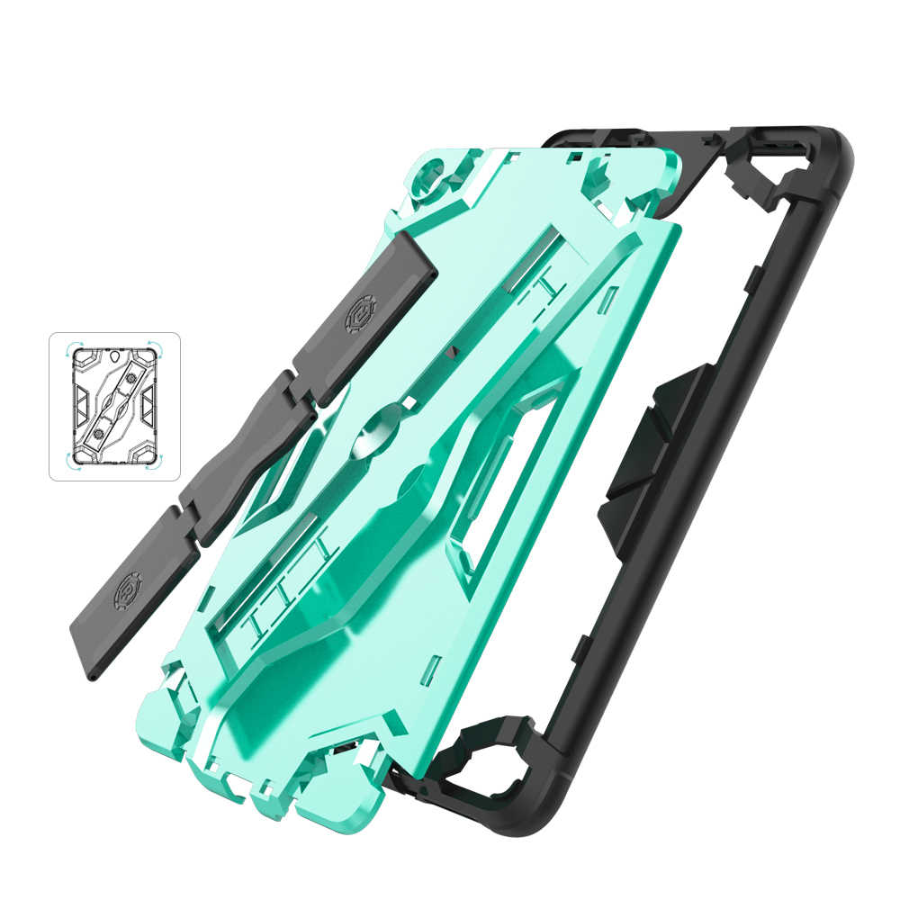 Противоударный защитный чехол для планшета из ТПУ + ПК с портативным ремешком для Xiaomi mi Pad 4 mi Pad 4 mi Pad4 8,0 дюйма
