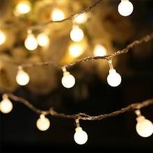 Светодиодная гирлянда с 50 светодиодами в виде шара праздничное