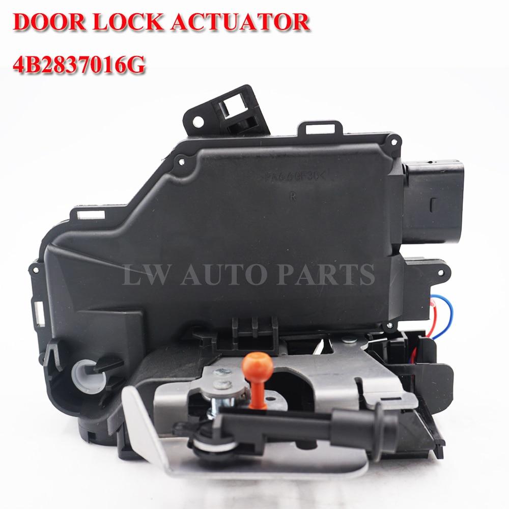 Для Audi A4 B6 правая передняя сторона двери замыкатель замка 4B2837016G 4B2837016 4B2837016A