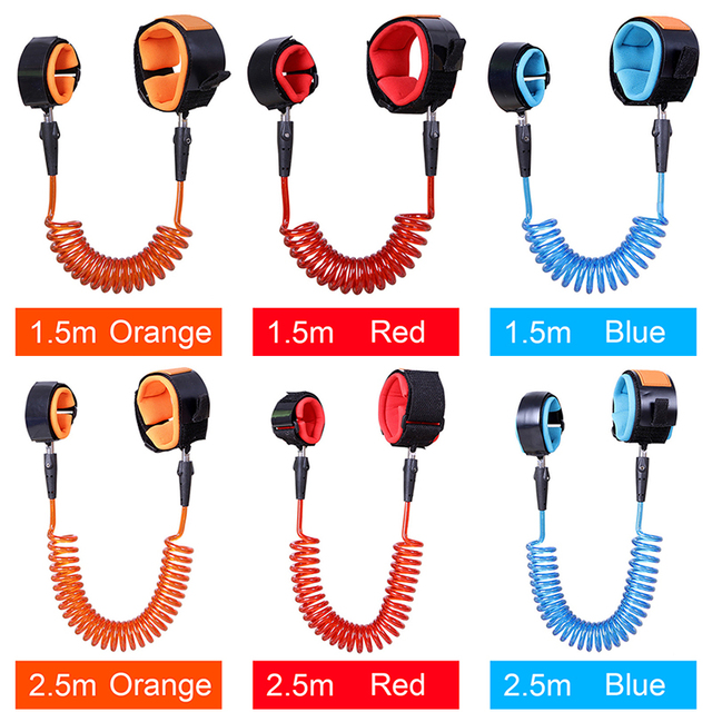 1.5 m Adjustable Child Kids Wrist Leash Toddler Baby Safety Harness Strap Anti lost Child Safety Wristbands Baby Hand Belt 1