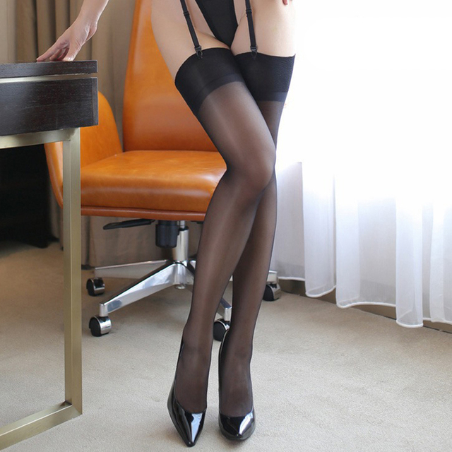 thigh high nylon stockings