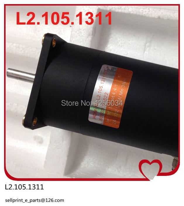 2 pieces FREE SHIPPING Heidelberg printing motor L2.105.1311, offset machine printing motor