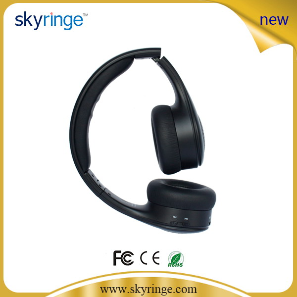 ФОТО Stereo Foldable Wireless Bluetooth Headphone With MIC Speaker HIFI Audio Headphone For Music