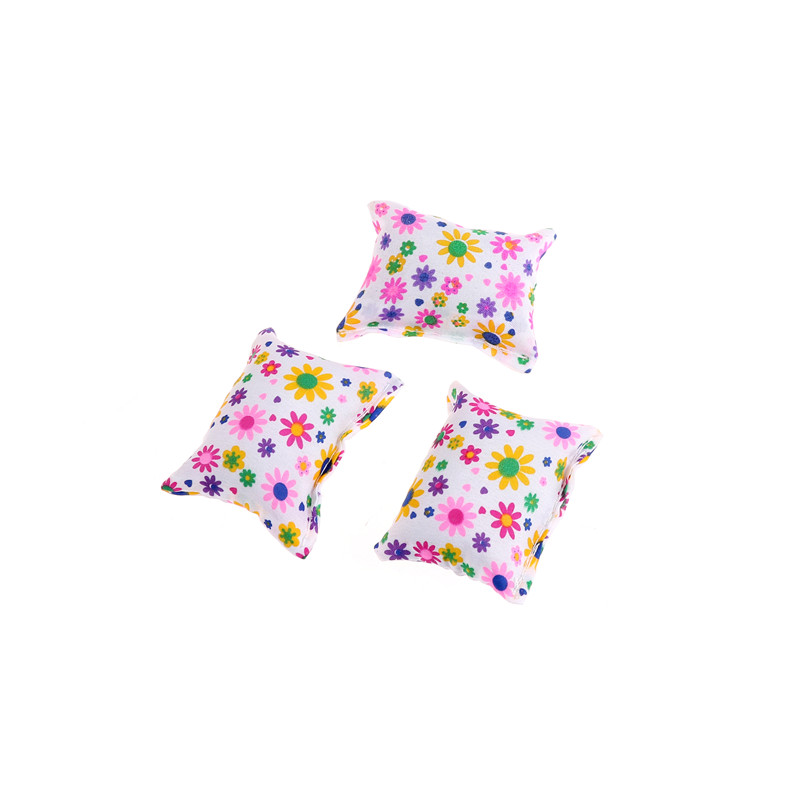 Baby Toy Plush Stuffed Furniture 3x Cushions For  Doll Couch P Cl
