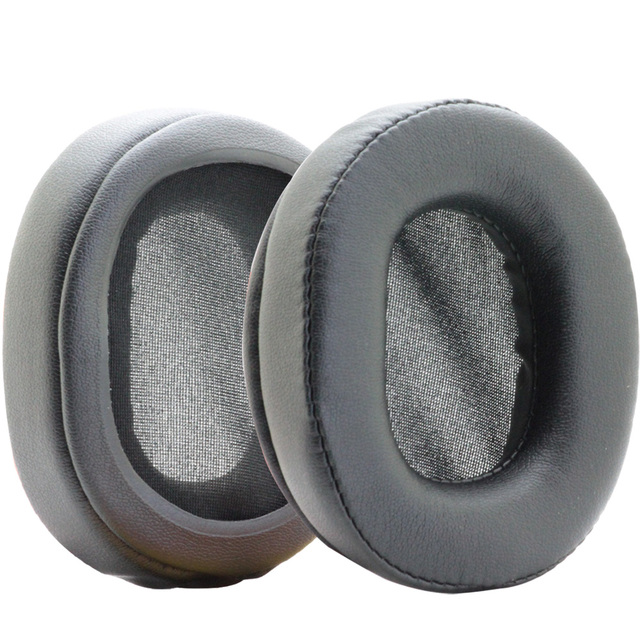 Poyatu Black Replacement Earpads For Sony MDR-1R MDR-1A MDR-MK2 MDR 1A MDR 1R MDR1RNC Headphones Ear Cushions Earbuds Ear pads