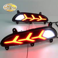 2PCS For Hyundai I20 Asta 2016 2017 SNCN Multi Function Car LED Rear Fog Lamp Bumper