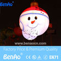 X123 DHL Free shipping+light  2m Hanging Christmas Inflatable Snowman with Light for Christmas/Inflatable Snowman balloon/
