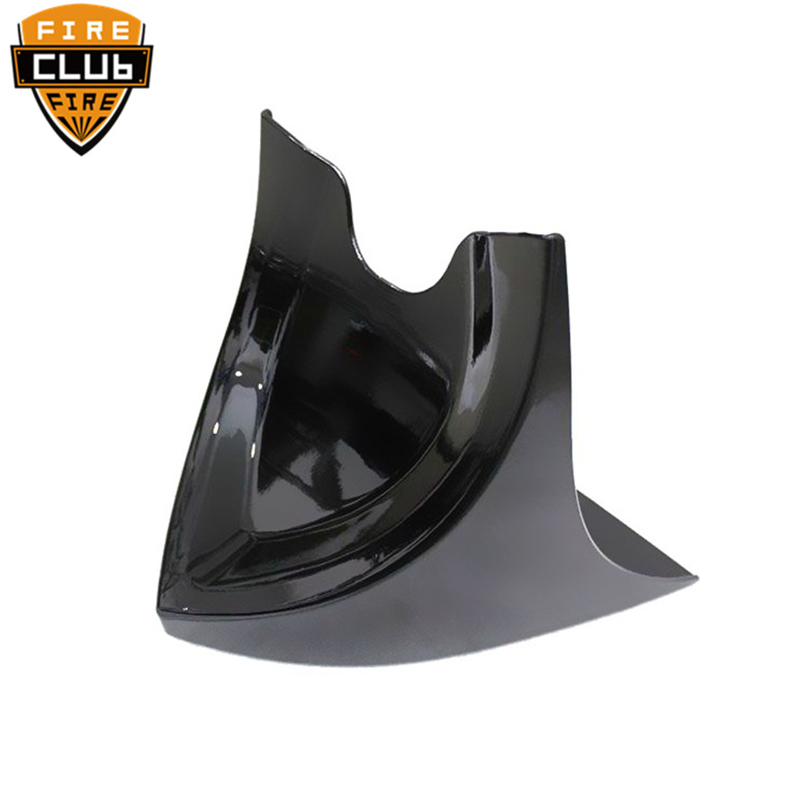 Chin Spoiler Avant Inférieur Air Barrage Carénage Couverture Pour Harley Sportster Dyna Softail Fatboy V-ROD Touring Glide