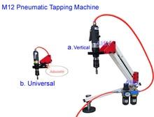 En kaliteli dikey evrensel esnek pnömatik kılavuz çekme makinesi kol Collet M3 M12 6 adet penset