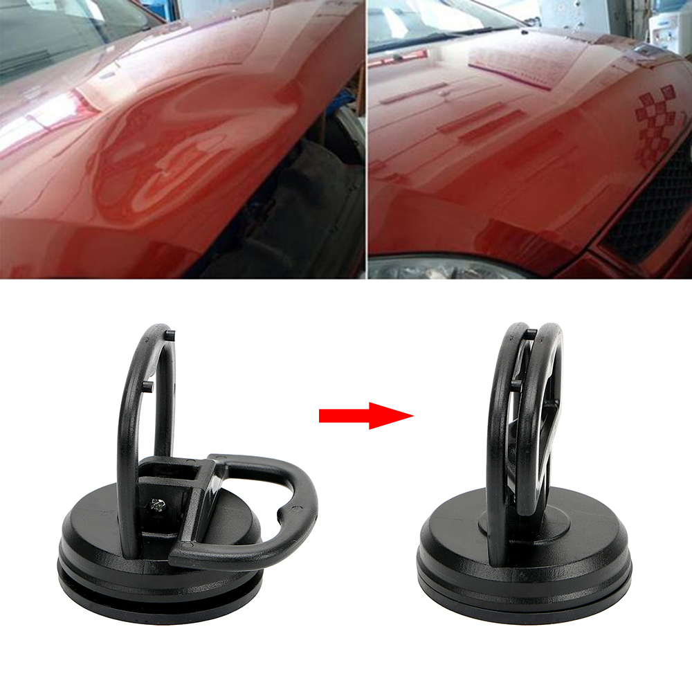 Onnfang 1pc Auto Body Dent Removal Tools Mini Car Dent Remover Puller Tools Car Suction Cup Pad Repair Kit Glass Lifter Locking Hand Tool Sets