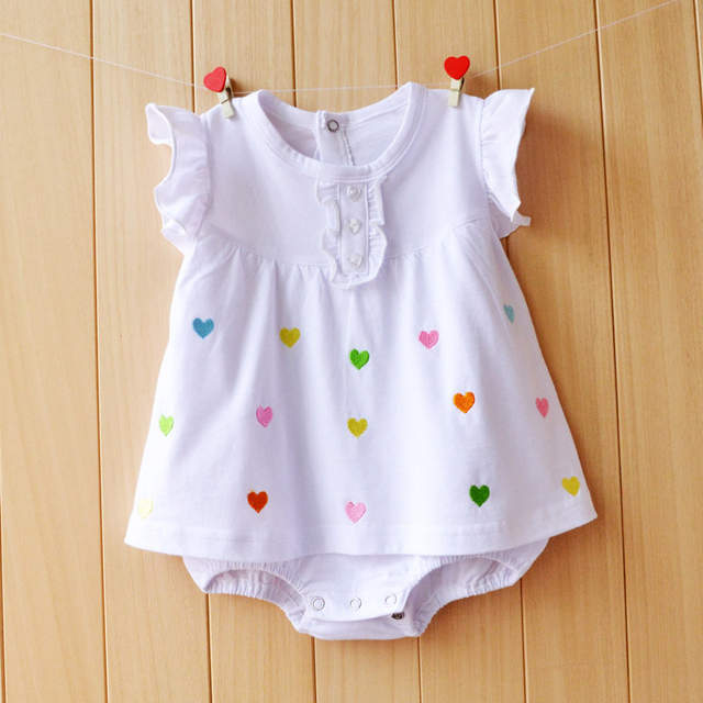 f45c04f1e78 placeholder Newborn Baby Girl Dresses Cotton Baby Girls Clothing Roupas  Bebe 2018 Toddler Kids Costume Summer Floral